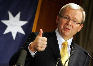 Kevin Rudd Gives Thumbs Up on Gay Marriage